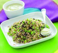 Quinoa con fave e olive in salsa di finocchi - Tutte le ricette dalla A alla Z - Cucina Naturale - Ricette, Menu, Diete