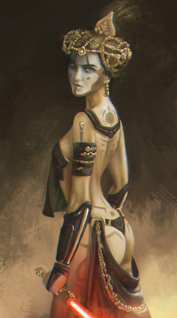 Королева Амидала - ситх. Процесс создания. star wars, ситхи, Натали Портман…