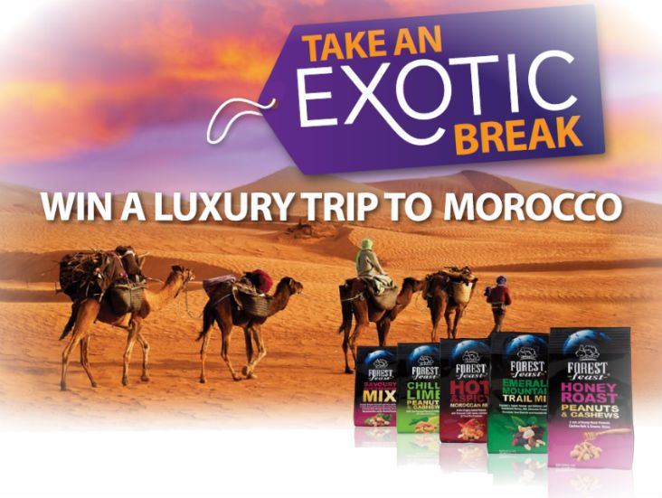 Win an Exotic Break with Forest Feast!