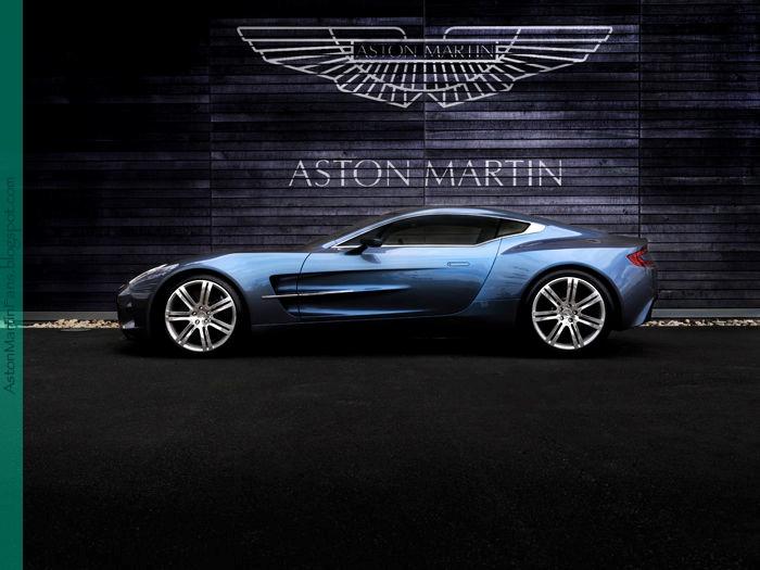 Aston  Martin One-77... Black colour if possible..