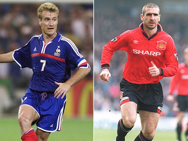 Man United legend Eric Cantona accuses French boss Didier Deschamps of racism in…