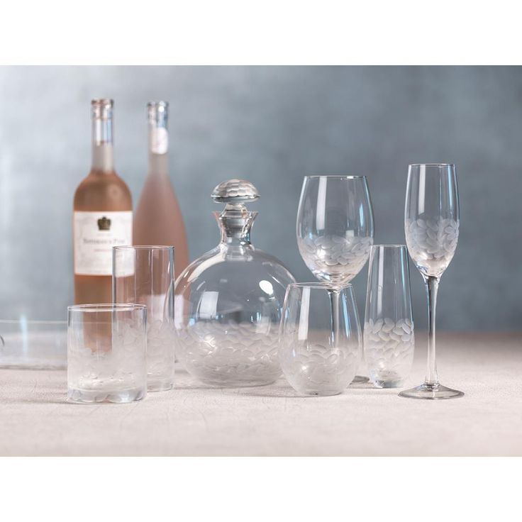APPLE 8L  HANDMADE Glass Bottle with cork TAP wine CARAFE