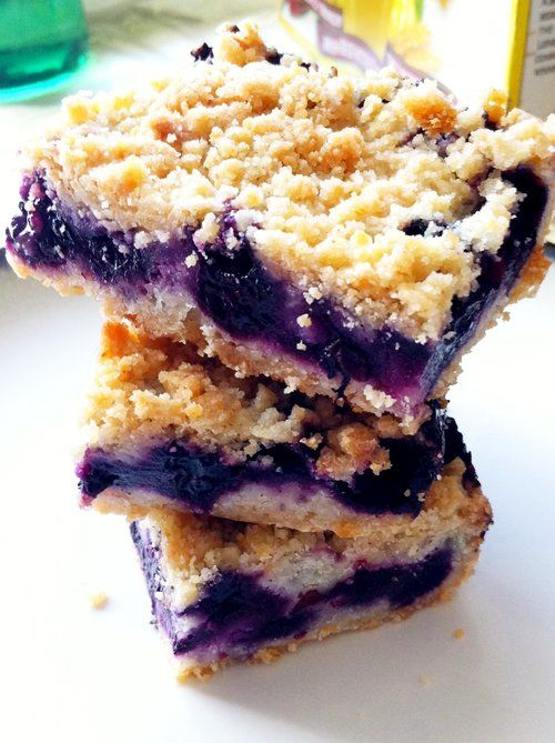 Recipe For Blueberry Crumb Bars