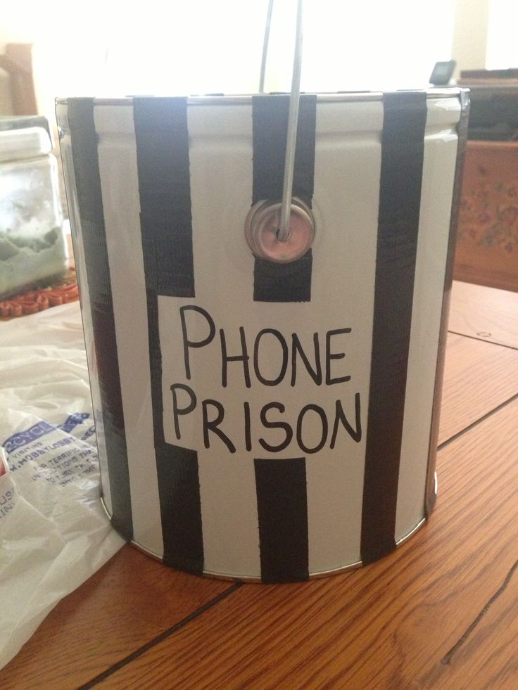 Phone Prison...for when my 8th graders can't keep their eyes off their devices!