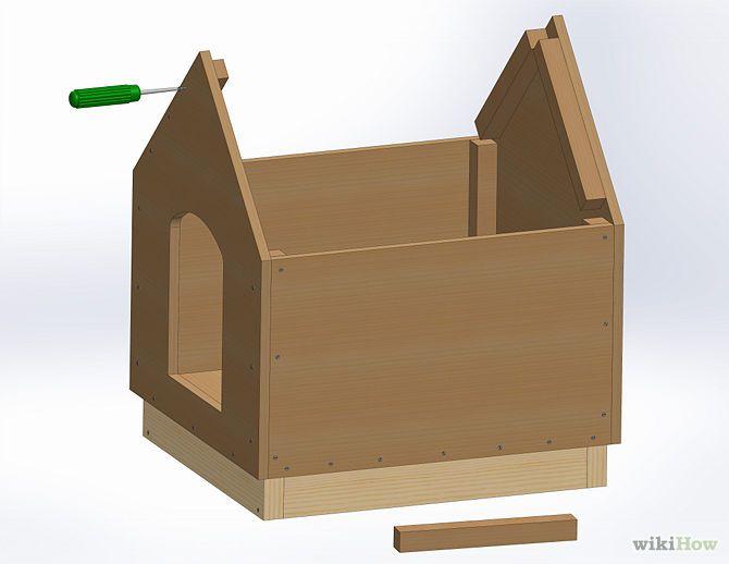 Comment construire une niche de chien niche de chien niche et comment cons - Comment estimer une maison ...