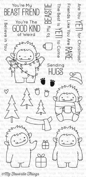 My Favorite Things Stamps - Beast Friends