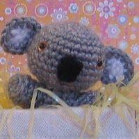 Knitted Toy Box: Koala Baby