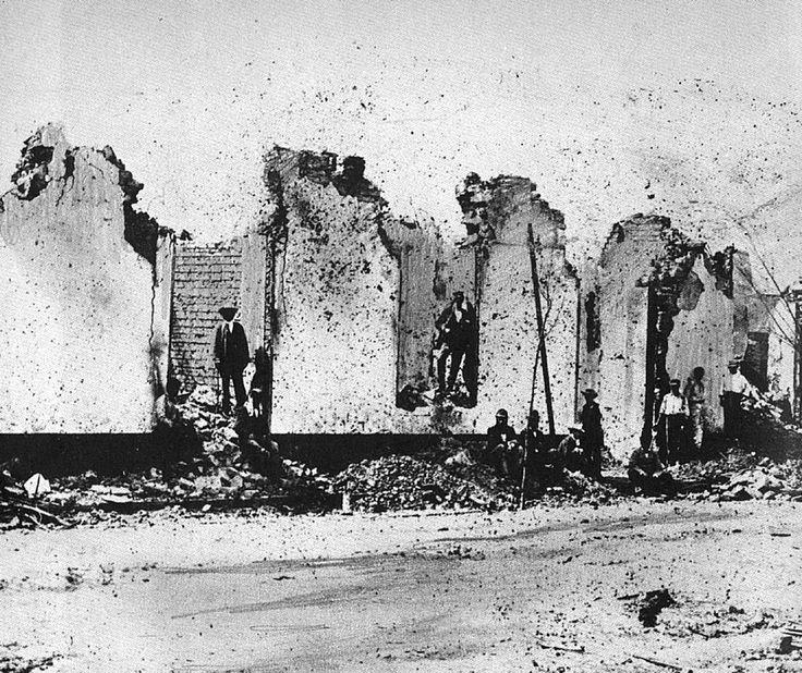 Chorrillos pared destruida - Guerra del Pacífico - Wikipedia, la enciclopedia libre
