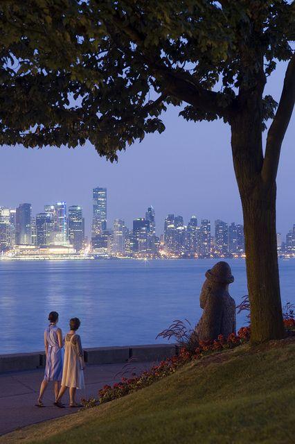 Stanley Park Seawall, Vancouver - via Flickr - so romantic!