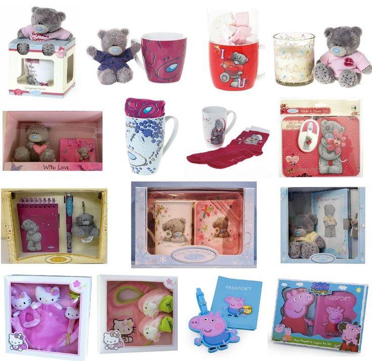 Gift Sets Branded Mugs Plush Bears Body Sets Socks & More Gifts