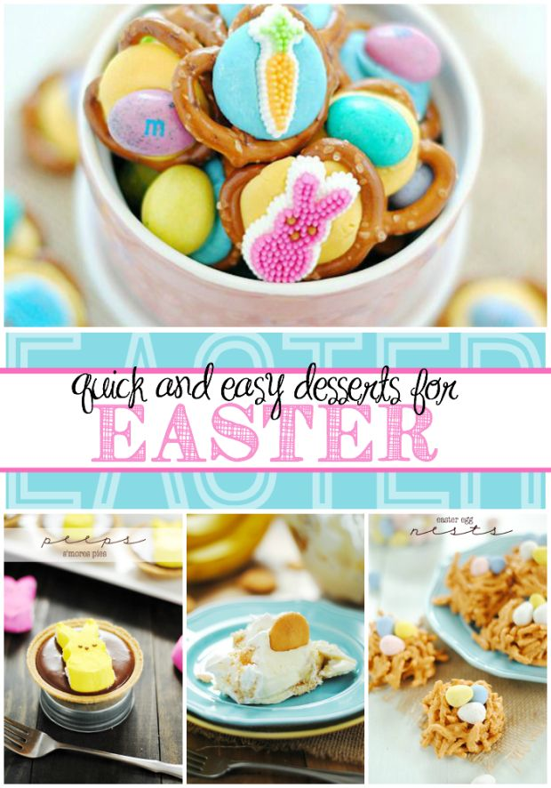 Quick and Easy Easter Dessert Recipes