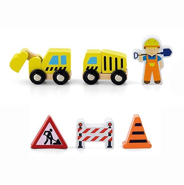 Calling all construction lovers. We have the perfect addition to your train set. 2 little construction trucks a worker and some construction signs. A great way to add role play and new stories to your play time. Stop the Train we have to fix the track.  And it's only $14. http://ift.tt/1t2cZNf  #lucaslovescars #trains #construction #woodentoys #giftidea #gifts #mumswithhustle #tdpgraduate #businesschicks #stylishkids #motherofboys #boyswillbeboys #kidsstyle #toystagram #playroom #play…