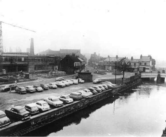 Before the ring road.
