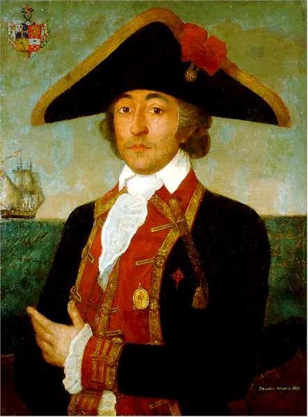 Retrato de Francisco Javier de Winthuyssen y Pineda (1747-1797), jefe de escuadra de la Real Armada