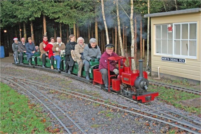 WOKING MINIATURE RAILWAY SOCIETY LTD - MIZENS RAILWAY