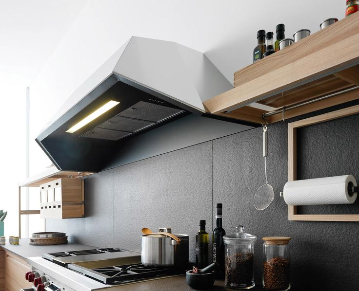 Wooden Fitted Kitchen With Island SineTempore New Mosaic SineTempore  Collection By VALCUCINE