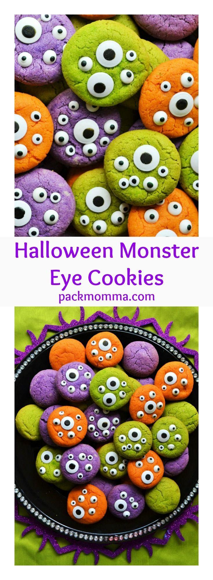 Monster Halloween Cookies: 37 Best Scary Meatballs Images On Pinterest