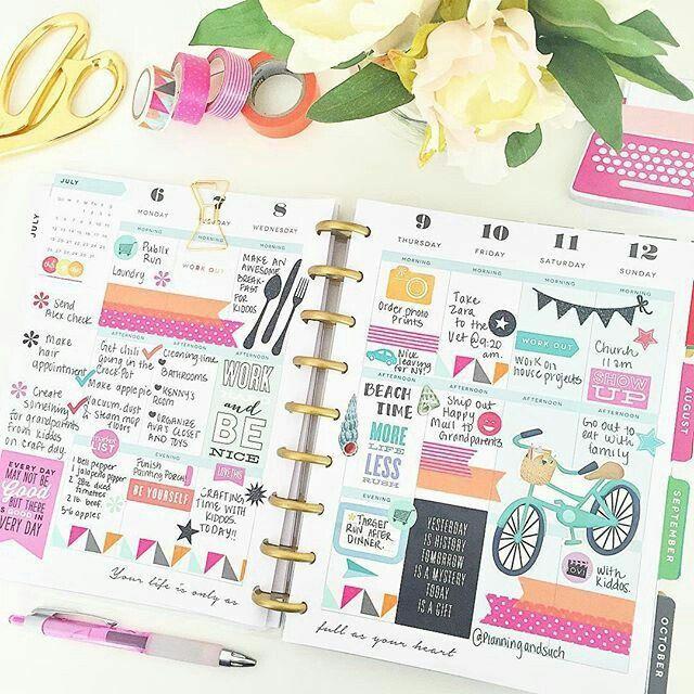 Оформление |ежедневника|♡☆