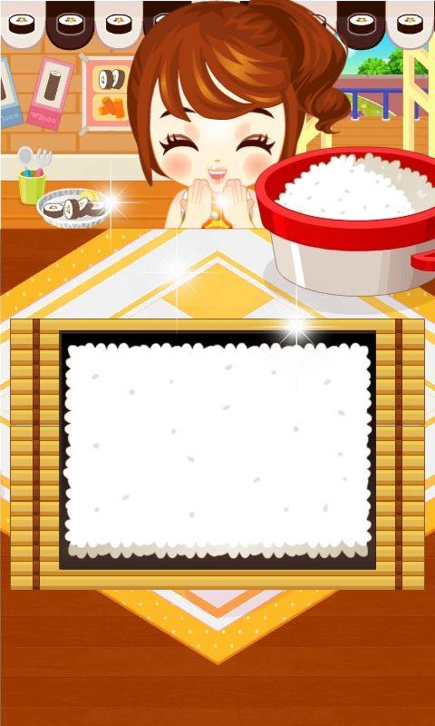 쥬디의 김밥 만들기 - 어린 여자 아이 요리 게임 - screenshot