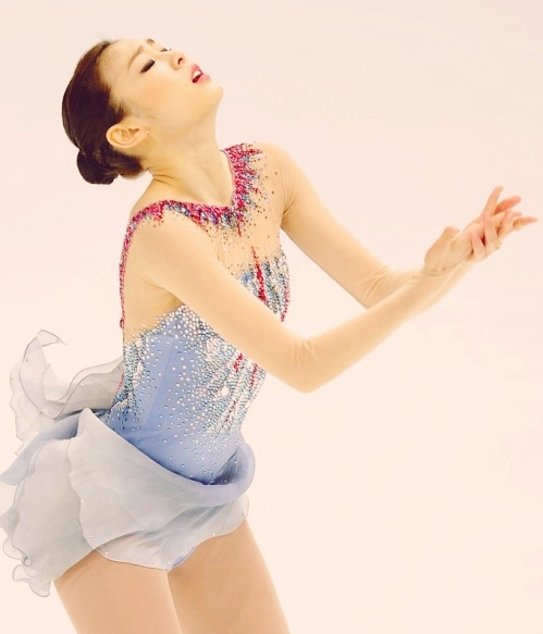 Kim Yuna. She is my queen. She is perfection and a moving piece of art. I love her.