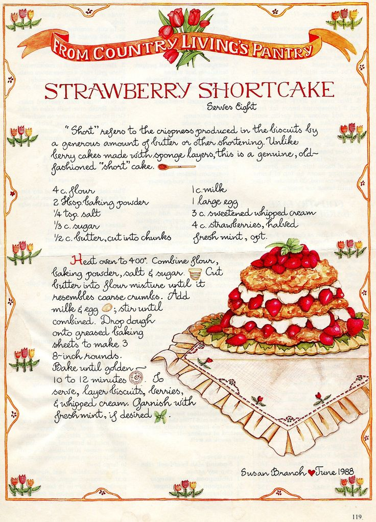 A thousand times better than the deconstructed strawberry shortcake made by Ina Garten!