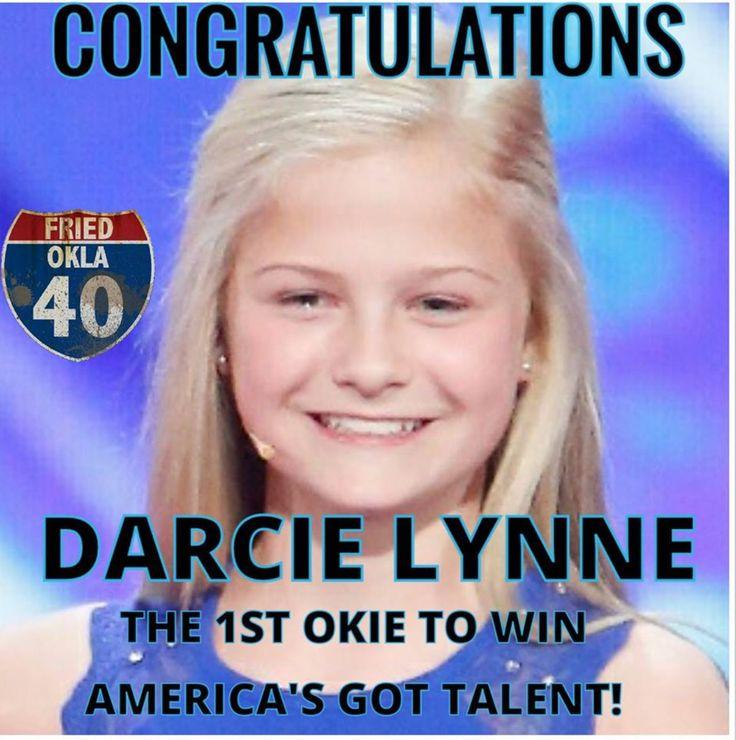 9/20/17  12 year old ventriloquist Darcie Lynne Farmer from OKC, OK wins America's Got Talent