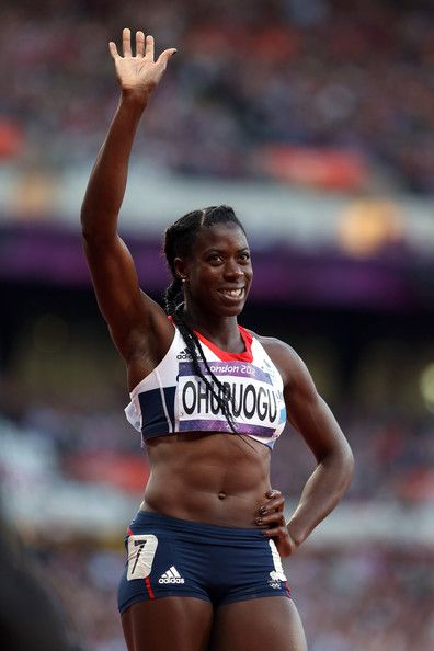 Christine Ohuruogu of Great Britain competes in the Women's 400m Semi Final on Day 8 of the London 2012 Olympic Games at Olympic Stadium on August 4, 2012 in London, England.