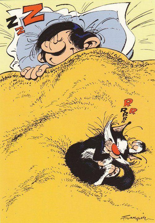 Gaston lagaffe by Franquin