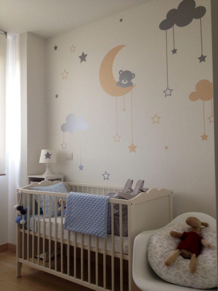 Best 25 vinilo infantil ideas on pinterest vinilos para bebes vinilos ni os and vinilos - Decoracion habitacion del bebe ...