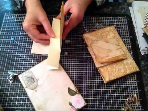 This is part 1 of how I made my vintage style journals There are 5 videos each approximate 12-15 mins long So watch the process if your interest Giveaway on ...