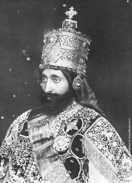 Emperor of Ethiopia Haile Selassie by Negusa Negasti