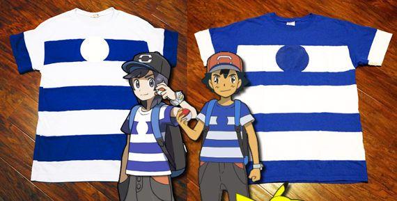 Alola t-shirt- Sun or Ash from Pokemon Sun/Moon