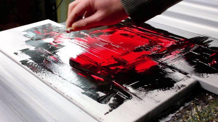Learn Abstract painting: http://www.paintinglesson.tv/en Apprendre la peinture abstraite: http://www.paintinglesson.tv/fr Buy my Artworks: http://www.johnbec...