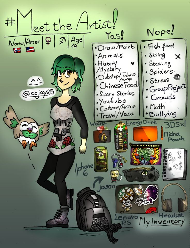 #meettheartist by Ccjay25.deviantart.com on @DeviantArt