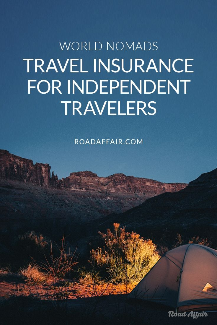 World Nomads is by far the best travel insurance for independent travelers.