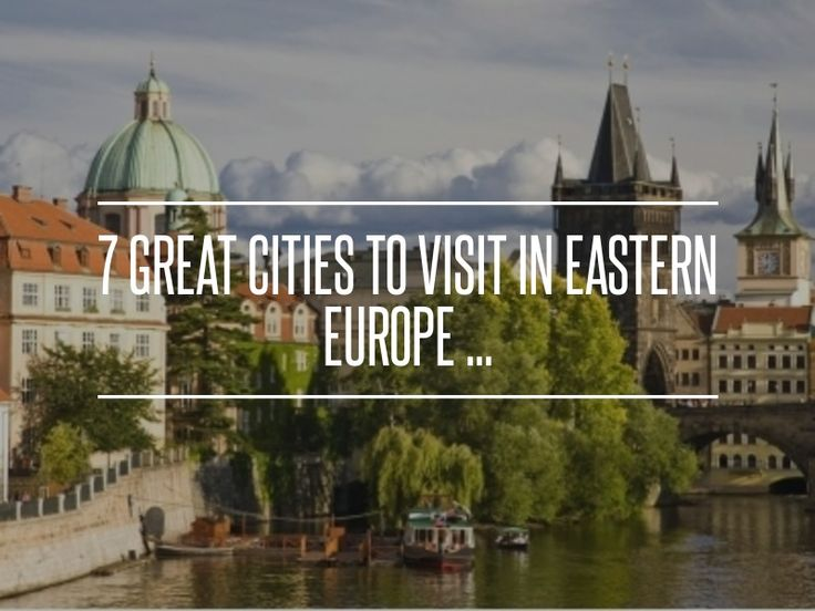 7. Bratislava (Slovakia) - 7 Great Cities to Visit in Eastern Europe ... → Travel