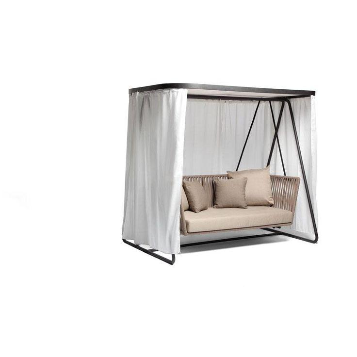 Kettal Bitta Leg Swing 2 Seater Home Interior
