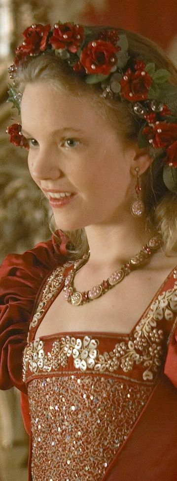 Katherine Howard, as portrayed by Tamzin Merchant on the Showtime series, 'The Tudors'.