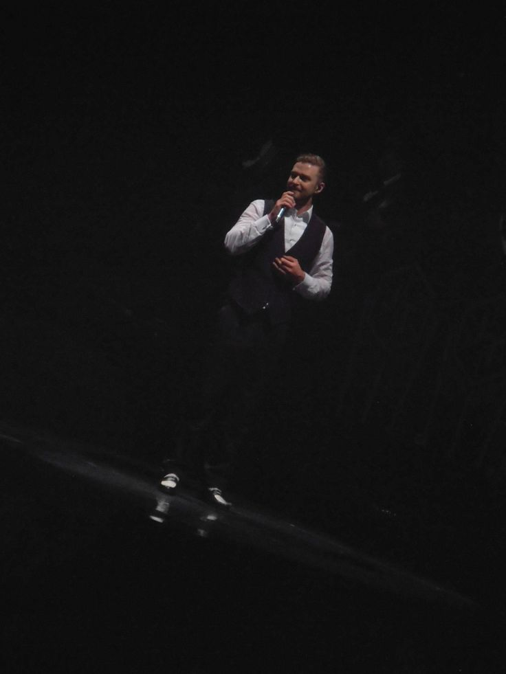 The 20/20 Experience World Tour #JustinTimberlake Machester, 2014 #music #livemusic #manchester #concert #gig