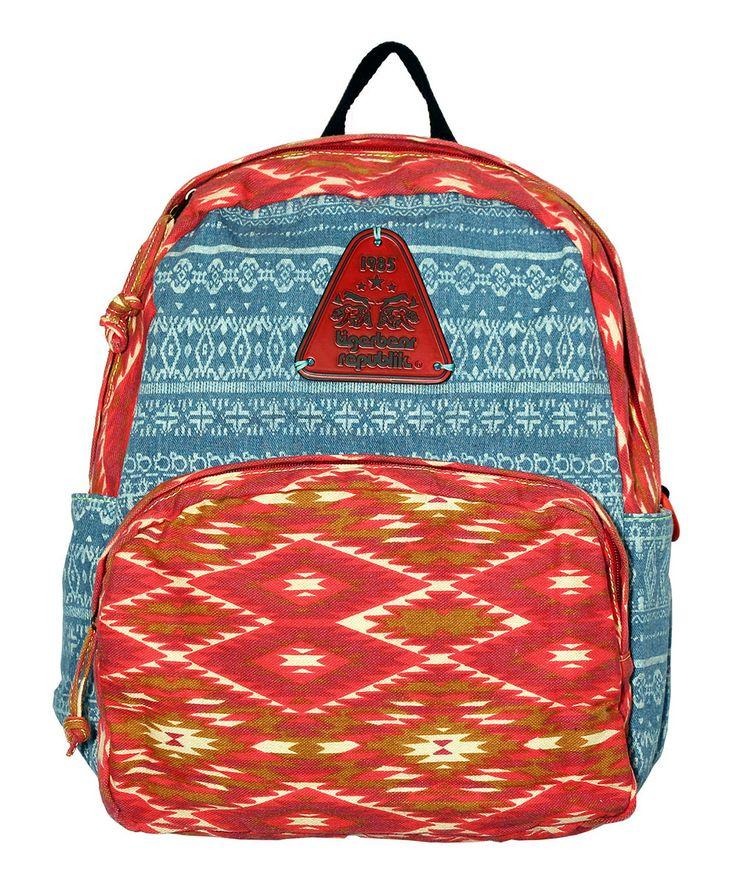 Red Diamond Denim & Arizona Dr. Jones Backpack   TigerBear Republik