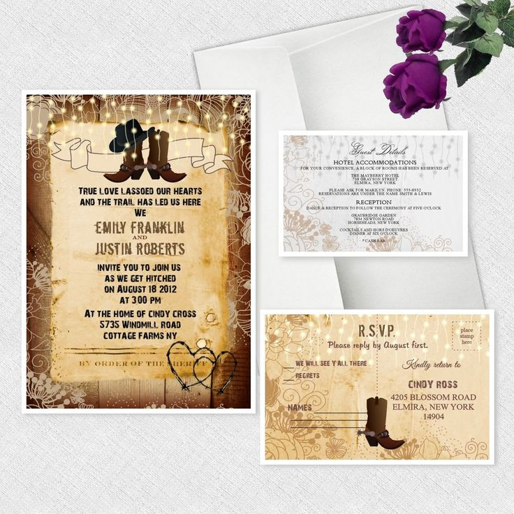 154 best wedding invitations images on Pinterest | Beach wedding ...