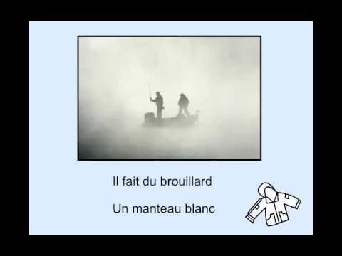 ▶ Aujourd'hui il pleut, Charlotte Diamond - YouTube Great song to teach weather names/verbs/associations