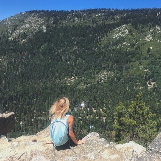 The best view comes after the hardest climb.  Shop this #backpack & plan for your weekend hiking: http://amzn.to/2l6jllA  #chicmodasport #chicmodafitness #CHICMODA #sportswear #backpack #summer #hiking #mountains #forests #lovesummer #health #travel #world #nature #love #sports #girl #loversleap #happy #life #morning #packablebag #travelbag