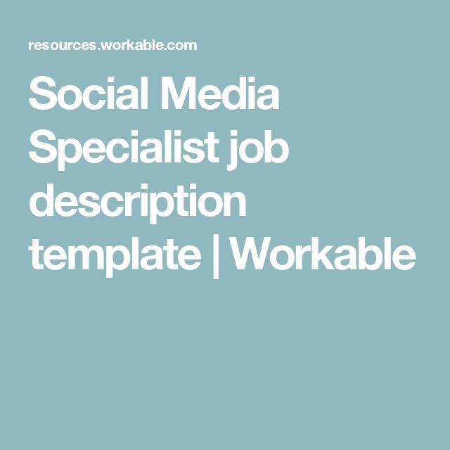 25  best ideas about job description on pinterest