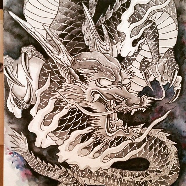 drawing dragon process so much fun drawing dragontattoo tattoo sketch ink ideas. Black Bedroom Furniture Sets. Home Design Ideas