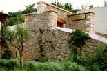 Xenon Estate villas in Spetses - main entrance.  www.xenonestate.gr