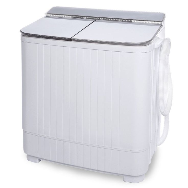 Apartment Washer Small Compact Portable Washing Machine Twin Tub Dorm Rooms RV #Ivation