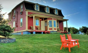 $99 for a One-Night Stay at George House Heritage Bed and Breakfast in Newfoundland (Up to $174 Value)