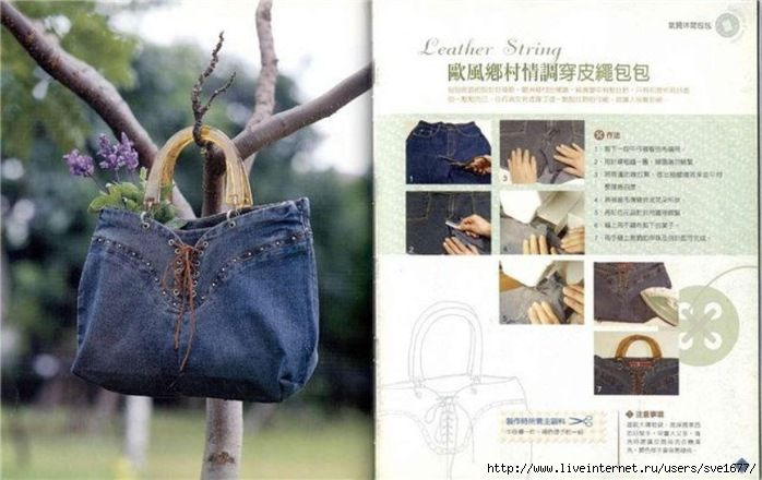 Recycled Jeans-Bags