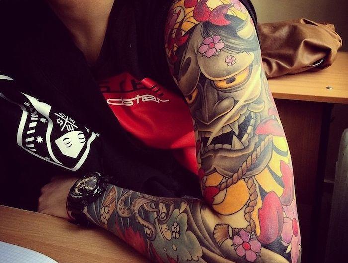 irezumi ou le tatouage japonais traditionnel pinterest dragon japonais tatouage fleurs de. Black Bedroom Furniture Sets. Home Design Ideas